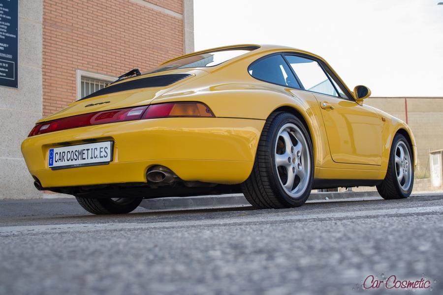 Porsche car detailing